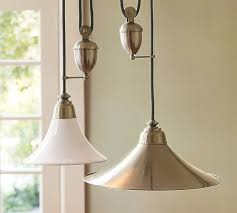 Pulley Pendant Light Porter Pendant Pottery Barn