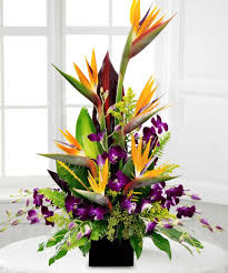Flowers Delivered With Vase Birds In Paradise Give Someone This Exotic Arrangement Of Birds