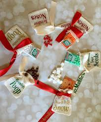 christmas goody bags christmas party favors personalized candy bags christmas