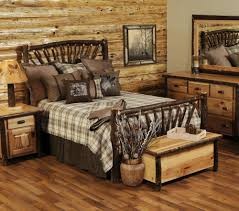 Rustic Bedroom Furniture Sets King Midwest Log Furniture Bedroom Amish Sets Kits Southern Rustic