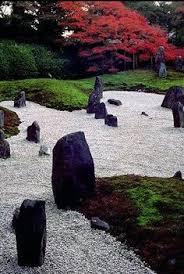 rock garden japanese asian gardens pinterest jardines