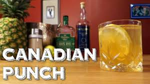canadian punch how to make an awesome party drink with rye