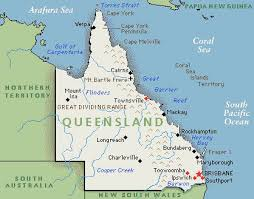 map of queensland declaring an bankruptcy while living in queensland