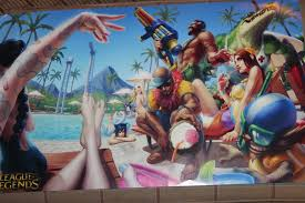 pool party skins released lol poseidon there s always a pool party at some weird kid s house on your block in the summer time and there s a pool party in runeterra too