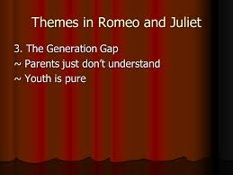 themes of youth in romeo and juliet shakespeare s romeo and juliet ppt download