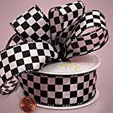 checkered ribbon checkered ribbons trim embellishments arts