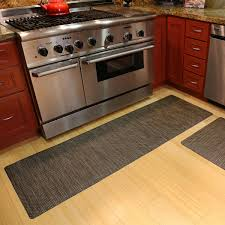 Rubber Kitchen Flooring by Luxe Therapeutic Floor Mats Wood Flooring