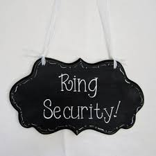 ring security wedding wedding ring bearer signs on wanelo