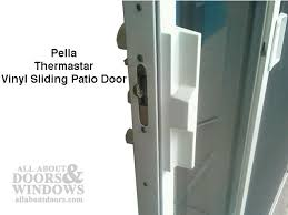 Sliding Glass Door Lock With Key by Pella Patio Door Handle Vinyl Sliding Door Handle