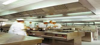 hotte cuisine pro règles de conception d une cuisine professionnelle