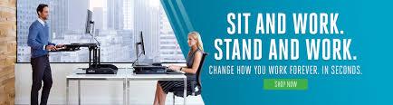 Adjustable Desk For Standing Or Sitting by Height Adjustable Standing Desks Varidesk Sit To Stand Desks