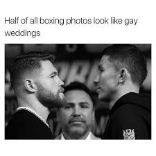 Meme Boxing - dopl3r com memes half of all boxing photos look like gay weddings