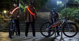 lights you can wear light up bike lock be seen stay secured