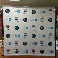 back drop backdrop stand for banners displays step repeat walls