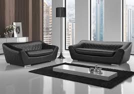canapé cuir noir canapé cuir noir design michelange canapé salon cuir design