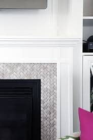 Concrete For Fireplace by Best 25 Fireplace Tile Surround Ideas On Pinterest White