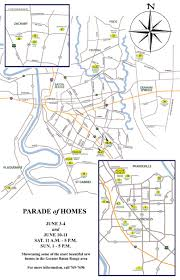 Lacc Map 2017 Parade Of Homes