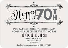 surprise 70th birthday party invitations dolanpedia invitations