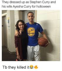 Curry Memes - they dressed up as stephen curry and his wife ayesha curry for