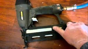 Central Pneumatic Framing Nail Gun by Ryobi Nail Gun Ra Nb1664 S Part 3 Youtube