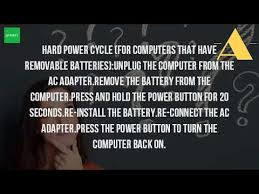 resetting battery windows 7 how do i reset my toshiba laptop battery youtube