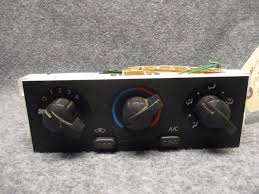 used nissan frontier a c u0026 heater controls for sale