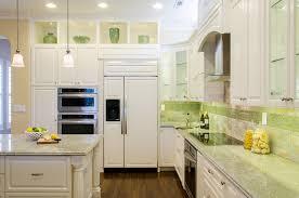 Large Tile Backsplash Kitchen Contemporary With Frame And Panel - Large tile backsplash