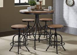 liberty furniture vintage dining series 5 piece pub table and bar