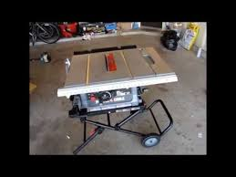 porter cable table saw review diy tools series porter cable pcb220ts table saw youtube