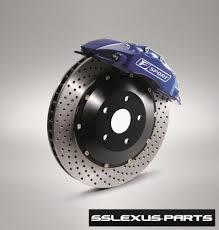 lexus es300 front brake pad replacement lexus is250 f sport performance big front brake kit oem ptr09