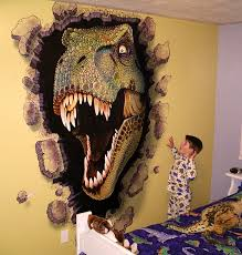 boys dinosaur room miles woods art wall murals jr s room boys dinosaur room miles woods art wall murals