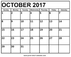 printable calendar page november 2017 october 2017 printable calendar pdf blank calendar templates