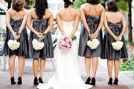 Wedding Dresses With Bows Wedding Trends U2013 Special Back Design Details Of Bridesmaid Dresses