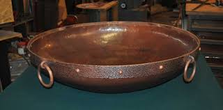 Copper Firepit Copper Pit Bowl Custom