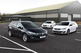 opel astra touring car vauxhall astra sports tourer vs skoda octavia estate vs peugeot
