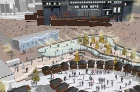 td garden owners unveil plans for city hall plaza the boston globe