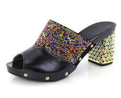 Wedding Shoes Kl Kl1607 Black New Slipper For Pary And Wedding Fashion Italian