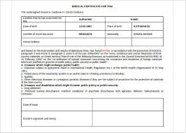 medical certificate template free word pdf documents creative