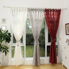 contemporary decorative curtains for living room choosing