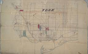 Map Of Toronto File Map Of The County Of York Ontario From The Late 1800s Jpg