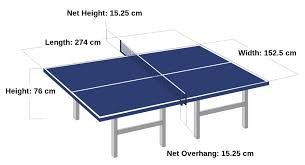 ping pong table tennis ping pong tables size best ping pong tables