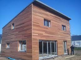 bureau ossature bois maisons et bureaux en ossature et bardage bois
