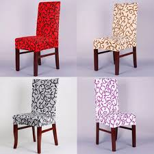 chair seat cover honana wx 912 spandex elastic stretch chair seat cover