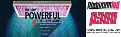 advanced platinum led grow lights amazon com advanced platinum series p300 300w 12 band led grow
