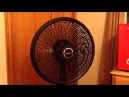 kenmore 18 inch stand fan with remote lasko cyclone 18 stand fan with remote youtube
