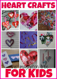 valentines u0027s day heart crafts and activities for kids the