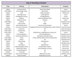 day of wedding coordinator best 25 wedding itinerary template ideas on wedding