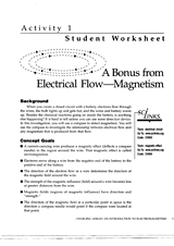 a bonus from electrical flow magnetism worksheet part 1