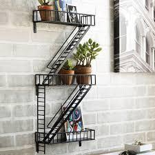 Wall Shelves by Amazon Com Design Ideas Fireescape Home U0026 Kitchen