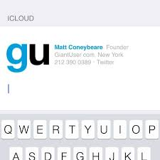 the right way to install an html signature in ios 7 mail